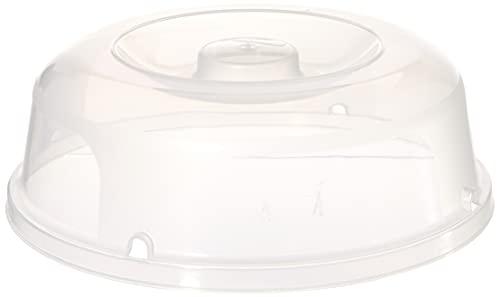 Curver Mikrowellen-Abdeckhaube in transparent, Plastik, durchsichtig, 27 x 25 x 9 cm