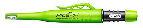 Pica Tieflochmarker Dry Longlife, langlebiger Marker mit Spitzer und Halteclip, Spezial-Graphitmine 2.8 mm ,grün, Art.-Nr. 3030.0