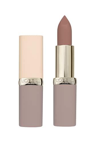 L'Oréal Paris Lippenstift, Mattes Finish im zarten Nude-Ton, Color Riche Ultra Matte, Nr. 03 No Doubts, 5 g