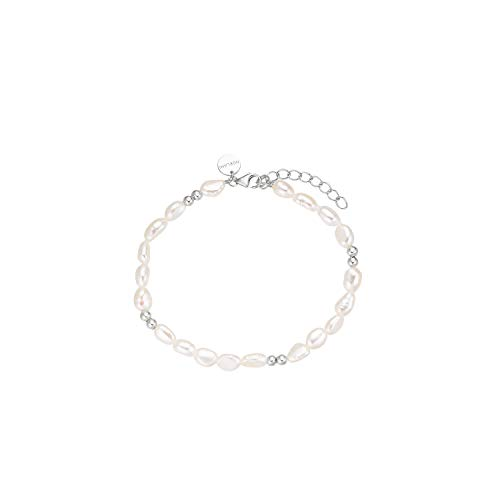 NOELANI Armband für Damen, Sterling Silber 925, Perle