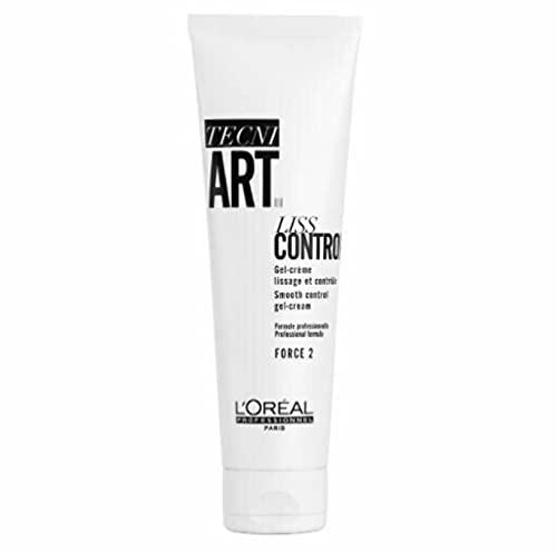 L'Oréal Professionnel Paris Tecni.ART Liss Control, glättende Styling-Creme, 24h-Bändigung, für Glanz & Geschmeidigkeit, für dickes Haar, 150 ml