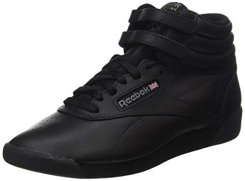 Reebok Damen Freestyle Hi High-Top, Schwarz (Black), 37 EU