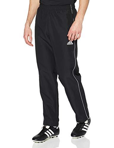 adidas Herren Core 18 Hose, schwarz (Black/White), L