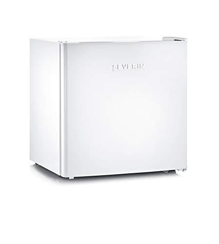 SEVERIN Gefrierbox mit 4 * Gefrierfach, Tischgefrierschrank mit Zwischenboden, Mini Tiefkühltruhe perfekt für kleine Haushalte, 32 L Nutzinhalt, weiß, GB 8882