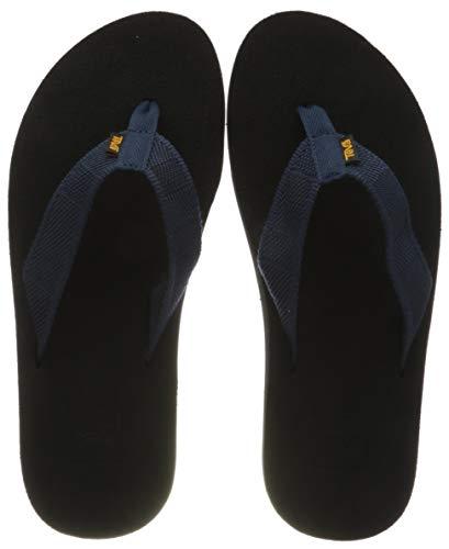 Teva Herren Mush II Sandal Mens Pantoffeln, Blau (Raki Dark Denim Rddn), 43 EU