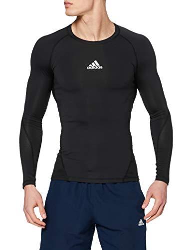 adidas Herren Alphaskin Sport Longsleeve Trainingsshirt, Black, L