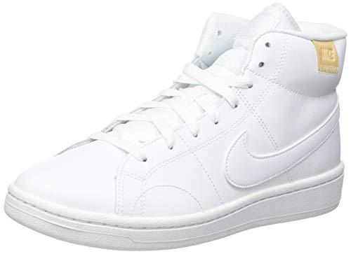 Nike Damen Court Royale 2 Mid Running Shoe, Bianco, 40.5 EU