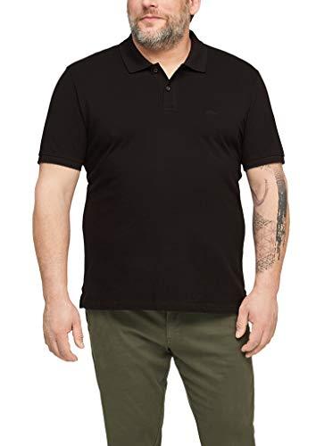 s.Oliver Big Size Herren Poloshirt aus Baumwolle black 3XL