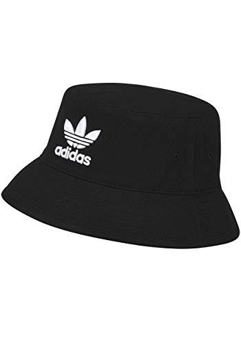 Adidas Bucket Hat Fischerhut Sonnenhut (OSF Men, Black/White)