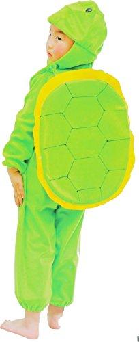 Fun Play Schildkrötenkostüm für Kinder - Kostüm Tier Schlafanzug für Jungen und Mädchen - Kinder Kostüme für 5-7 Jahre (122 cm)