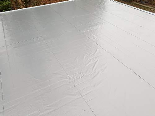 Agande (ab9.998€/m²) selbstklebende Dachfolie Dachbahn 5m² Gartenhäuser Dachabdichtung Bitumen
