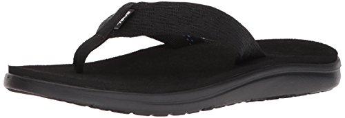 Teva Herren Voya Flip Sandal Mens Pantoffeln, Schwarz (Brick Black Bkbl), 45.5 EU