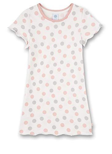 Sanetta Mädchen beige Nachthemd, White Pebble, 128