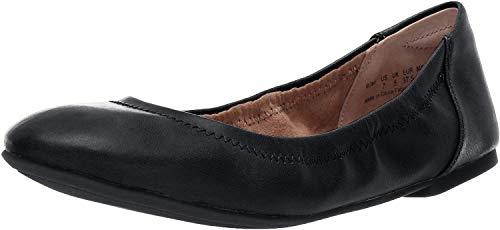 Amazon Essentials Belice Ballet Flat Damen Ballerinas, Schwarz, 37