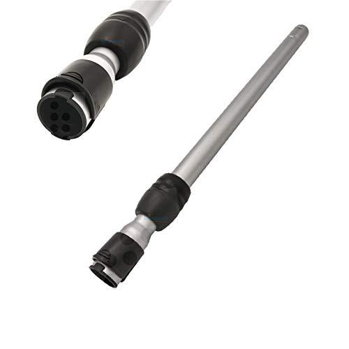 Teleskoprohr verstellbar für Siemens VSZ7330 Staubsauger Z 7.0 family allergy plus - Staubsaugerrohr, Saugrohr mit Einrastunfktion am Griff/Düse von Microsafe