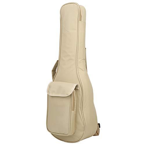 Gitarrentasche aus Baumwolle, Ukulelen-Tragetasche, Gitarrenteile, Musikinstrument-Zubehör, Beige