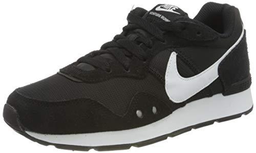 Nike Womens Venture Runner Sneaker, Black/White-Black,39 EU