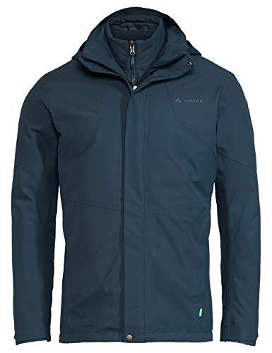 VAUDE Herren Men's Caserina 3in1 Jacket II Doppeljacke, Steelblue, L
