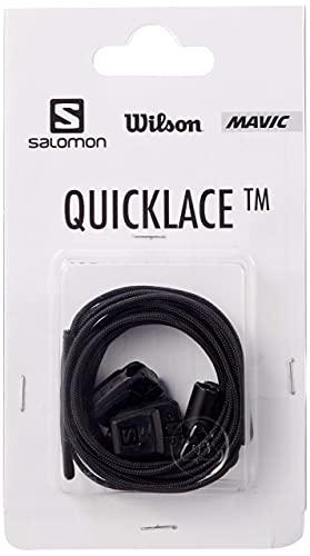 Salomon Quicklace Kit Ersatzschnürsenkel, Black, One Size