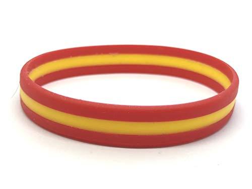 Patch Nation Spanien Spanisch Flagge Silikon Armbänder Wristband