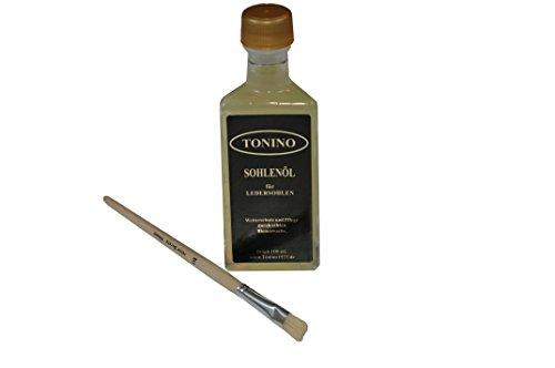 Tonino Sohlenöl zum Schutz und Pflege von Ledersohlen 100 ml