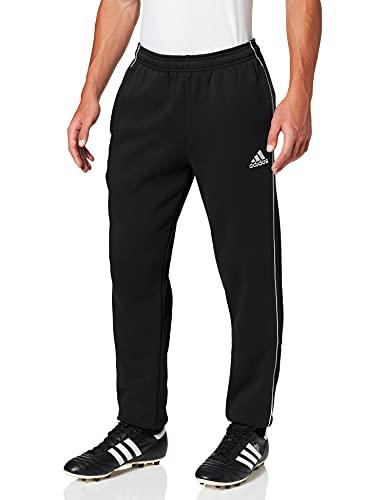 Adidas Herren Core 18 Trainingshose, Black/White, L