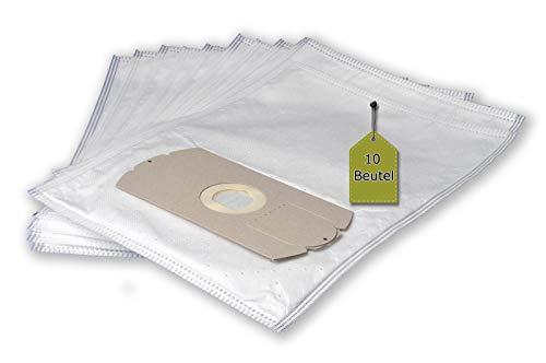 eVendix Staubsaugerbeutel kompatibel mit Fakir IC 115, 10 Staubbeutel ähnlich wie Original Fakir Staubsaugerbeutel 2181 805