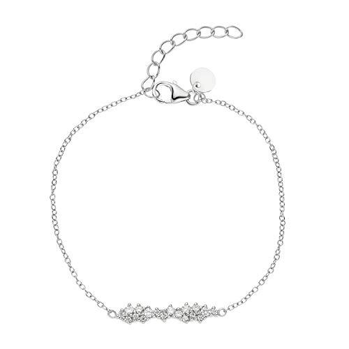 NOELANI Armband für Damen, Sterling Silber 925, Zirkonia