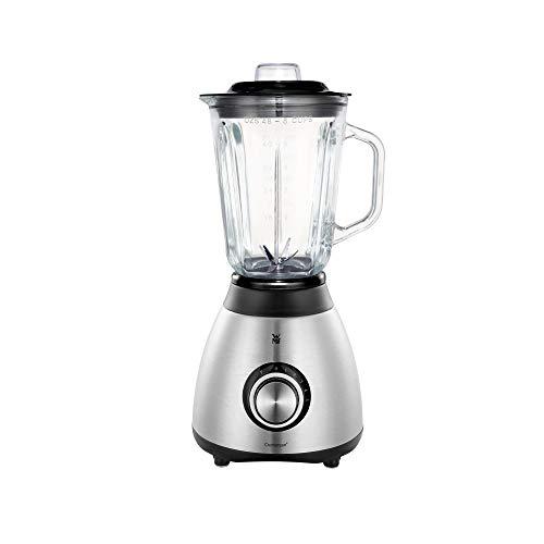 WMF Stelio Standmixer Glasbehälter 1,5l, Ice-Crush, 20.000 U/min, Mixer Smoothie Maker Glas, Blender, Küchenmixer, Milchshaker elektrisch