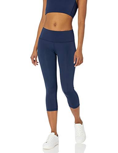 Amazon Essentials Mid Rise Capri Aktive Skulpt leggings-pants, navy, S