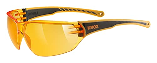 uvex Unisex– Erwachsene, sportstyle 204 Sportbrille, orange/orange, one size