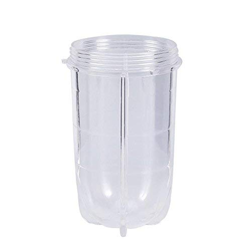 Tassen Ersatzteil, Entsafter Becher Ersatzbecher aus Kunststoff Transparente Tassen für Mixer Entsafter