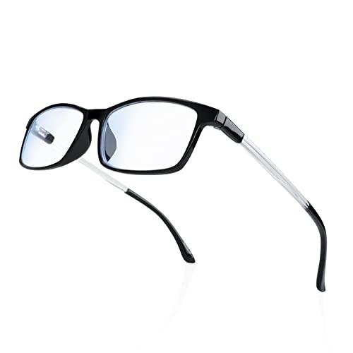 Blaulicht Brille Blaulichtfilter Lesebrille Federscharnier Computerbrille Anti Ermüdung Brille 1.5 VVDQELLA Lesebrille