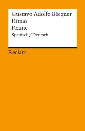 Rimas / Reime: Spanisch/Deutsch (Reclams Universal-Bibliothek)