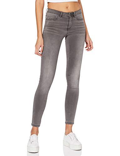 ONLY NOS Damen Skinny Onlroyal Reg SK Dnm Jeans BJ312 Noos, Grau (Dark Grey Denim), L/L30