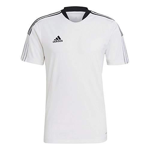 adidas GM7590 TIRO21 TR JSY T-Shirt Mens White XL