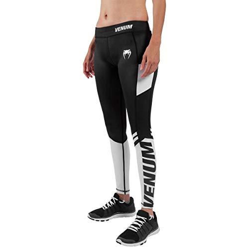 Venum Damen Power 2.0 Legging, Schwarz/Weiß, XS