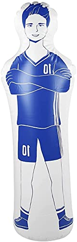 Easy Training Mannequin-Store PVC-Mehrzweck-Fußball- und Basketball-Trainingswand (blau)-Blau