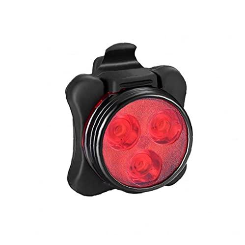 Hemore 1 stück USB Fahrrad helllicht wiederaufladbare wasserdichte taiselight Fahrrad hinten rückseite Sicherheit licht Mountainbike universal Pass mit Clip montiergurt rot