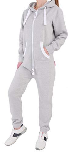 98W3 36i4 Finchgirl FG18R Damen Jumpsuit Overall Grau L