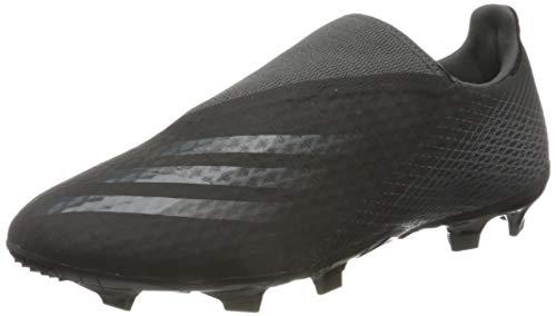 adidas X GHOSTED.3 LL FG, Herren Fußballschuhe, NEGBÁS / GRISEI / NEGBÁS, 44 EU