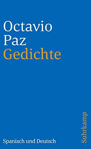 Gedichte: Spanisch und deutsch (suhrkamp taschenbuch)