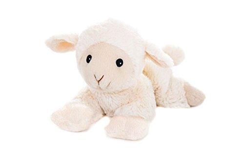 Habibi Plush Classic – 1838 Lämmchen/Schaf mit Hirsekörnerfüllung, Wärmestofftier zum Erwärmen in der Mikrowelle/Backofen