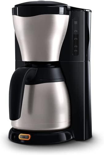 HD7546/20 Gaia Filter-Kaffeemaschine mit Thermo-Kanne, schwarz/metall