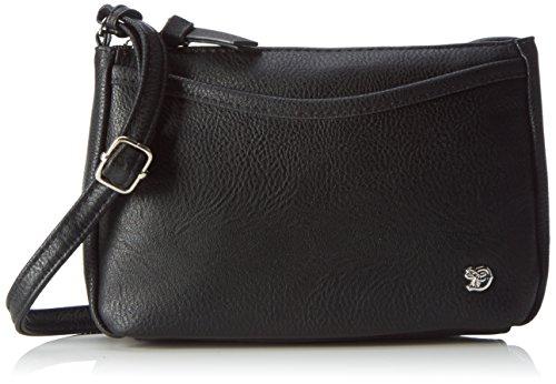 Denim TOM TAILOR bags CILIA Damen Umhängetasche S, black, 21.5x4x14