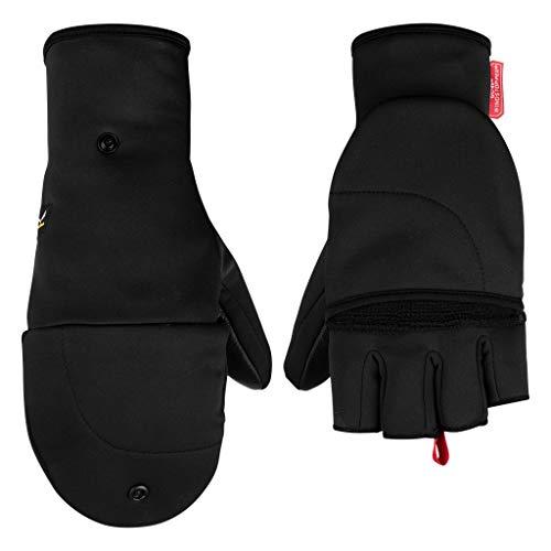 Salewa SESVENNA FOLD Back WS Gloves Handschuhe, Black Out, M