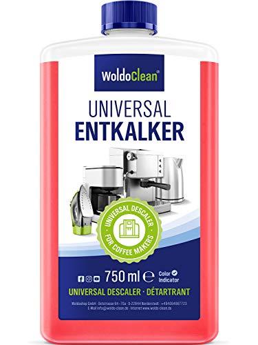 Entkalker für Kaffeevollautomat und Kaffeemaschine - 750ml für 6 Entkalkungen a 125ml