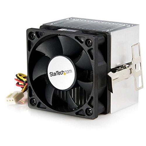 StarTech 60x65mm CPU-Kühler mit Kühlkörper für AMD Duron oder Athlon - PC-Lüfter (Prozessor, Kühler, 6 cm, Sockel 370, Intel® Pentium® III, 4500 RPM)