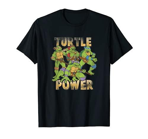 Teenage Mutant Ninja Turtles Turtle Power Group Shot T-Shirt