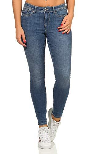 ONLY Damen Jeans Stretch-Hose ONLWauw Life Skinny 15219241 medium Blue Denim M/30